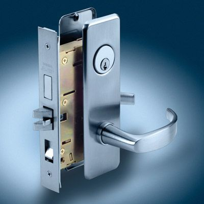 commercial door lock installation by a Houston locksmith