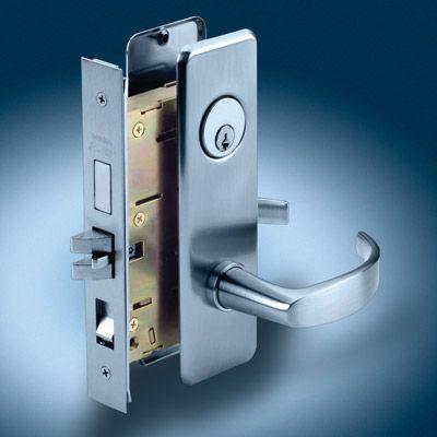 commercial door lock installation