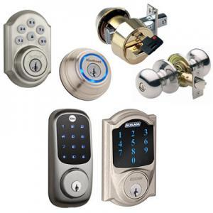 variety of high security locks for house locksmith to install