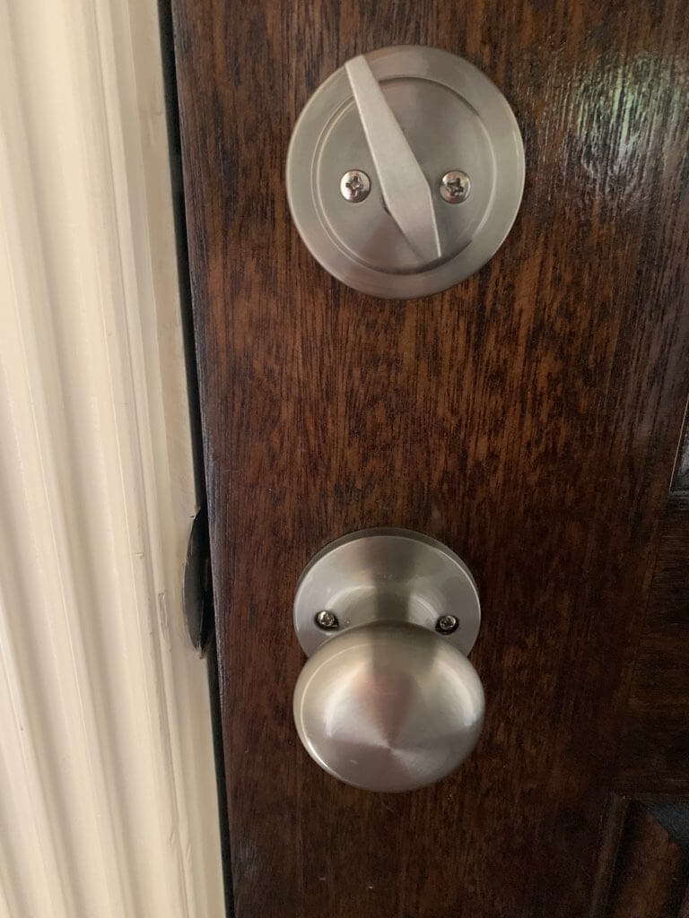 re-keying & lock replacement deadbolt