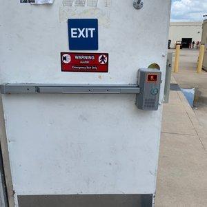 panic bar access control implementation